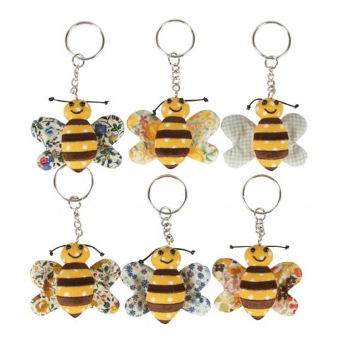BUSY BEE KEY RINGS